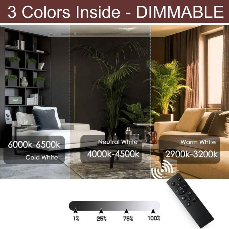 SPECTRA Yellow-3W-E27